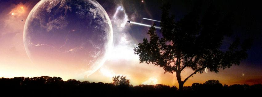 Universe voyage facebook cover