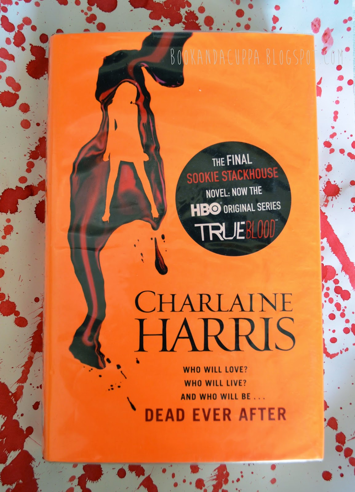 Charlaine Harris, Dead Ever After, Sookie Stackhouse, True Blood, The Southern Vampire  Mysteries, book review, 12 book in series, final, review,