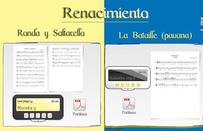 """Ranacimiento - Tielman Susato, """"Ronda y Saltarello"""" y pavana """"La Bataille"""""""