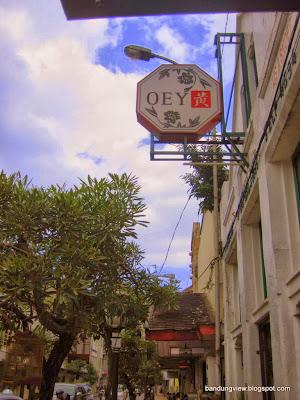 Kopi Oey jalan Braga