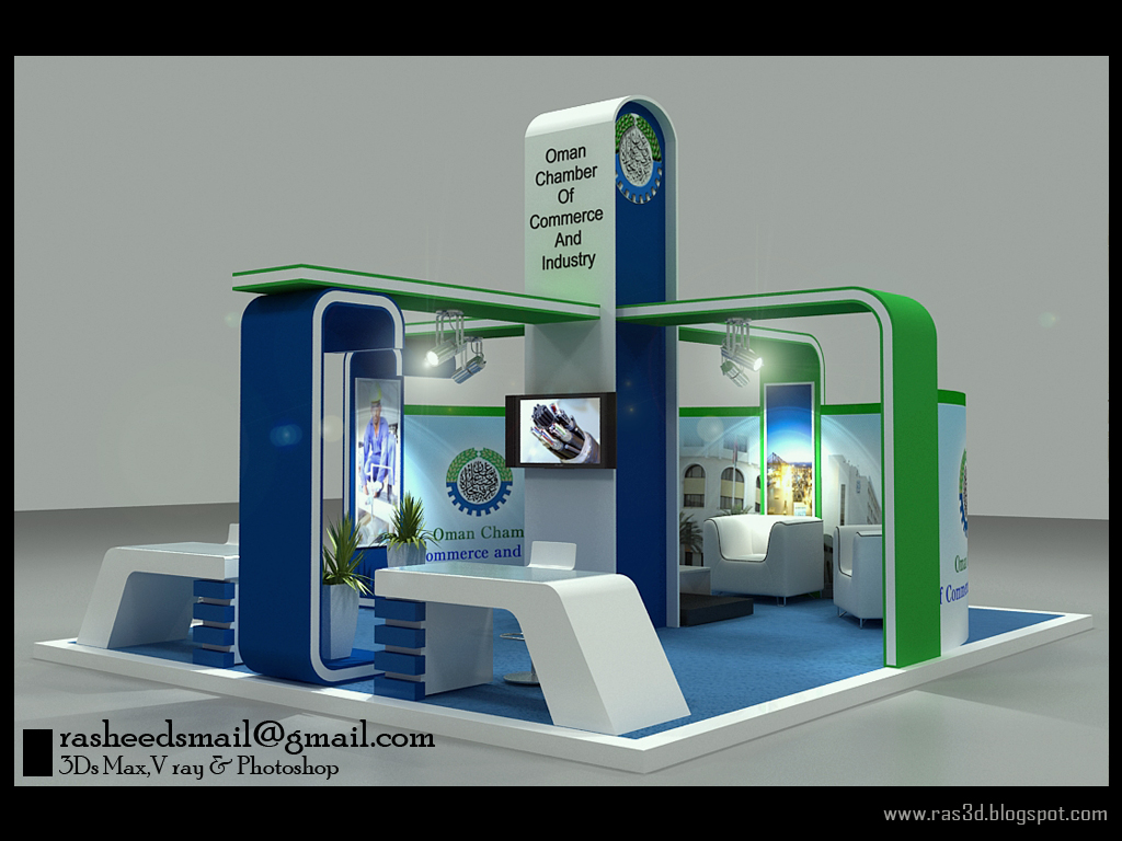 Exhibition Stand : D designer visualizer events exhibitions interiors