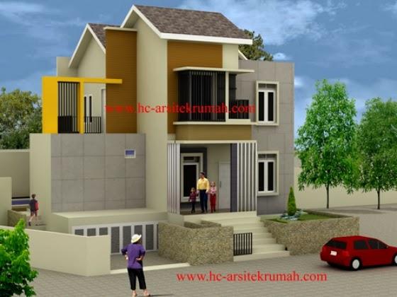 warna eksterior rumah konsep minimalis