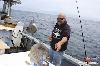 Went fishing on Wicked Tuna's F/V Hard Merchandise yesterday. See more ...