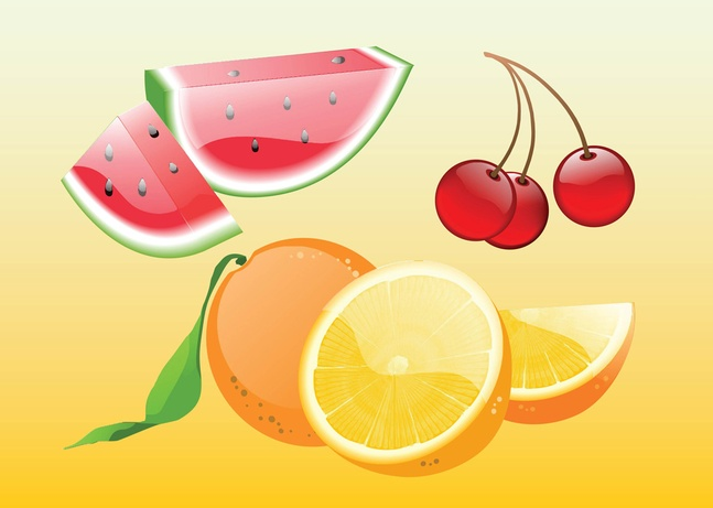 20+ Free Fruits Vector Art Graphics Download