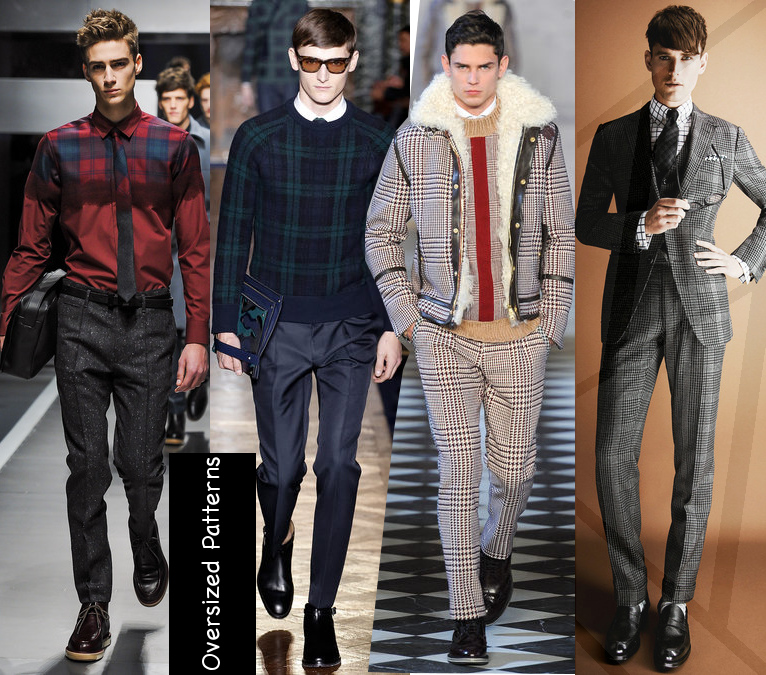 mens fall 2013 pattern trend