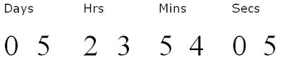 Countdown timer in javascript