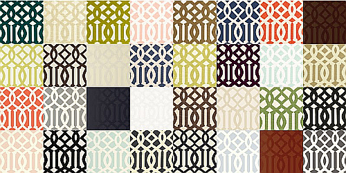 Trellis Fabric imperial trellis fabric or wallpaper | the designer insider