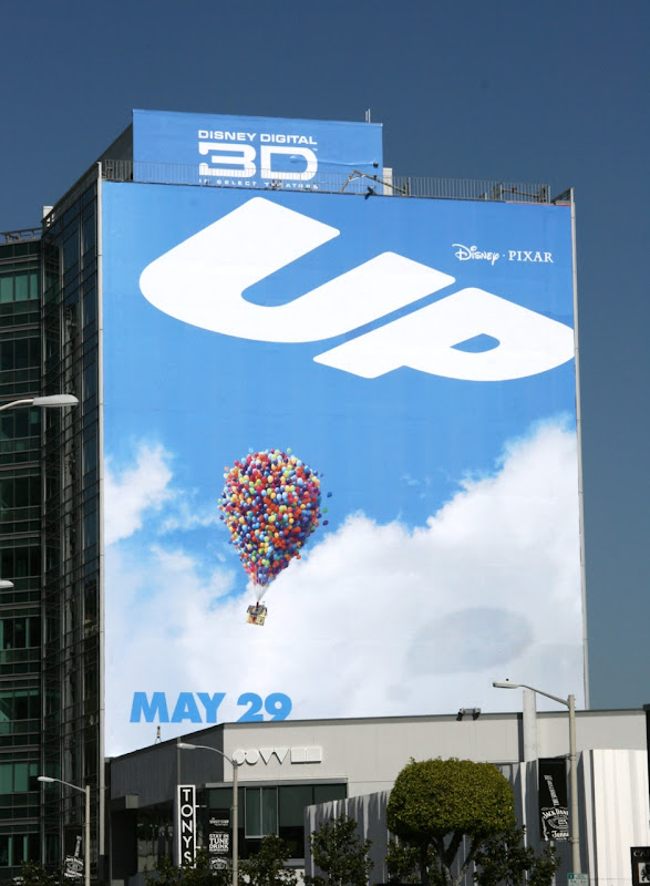 UP movie teaser billboard