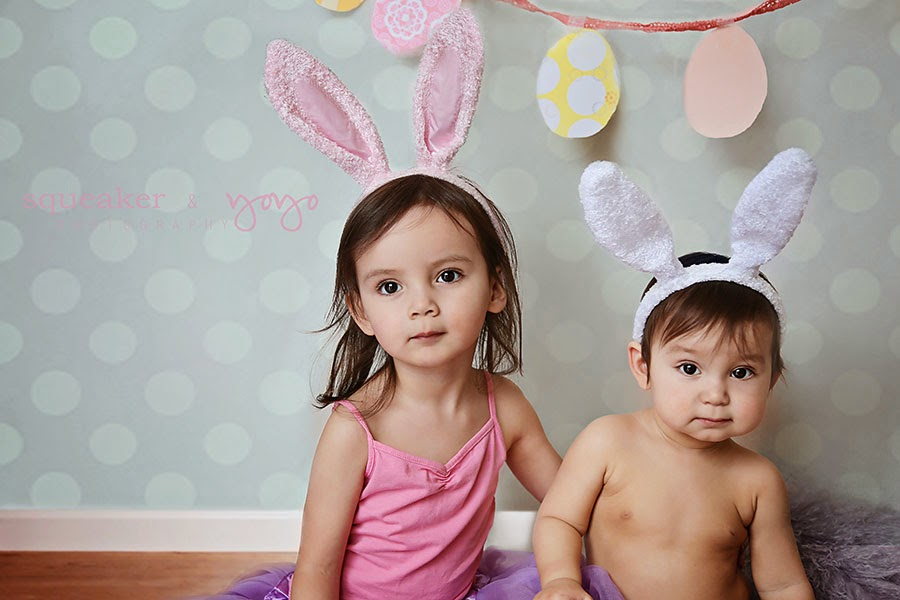 Easter photography, toddler photography, sibling photography, mississauga family photographer
