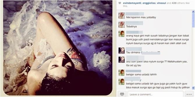 7 Foto Hot Nikita Mirzani di Instagram yang Kontroversi