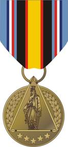 I was awarded the Global War on Terrorism Civilian Service Medal for Service in Iraq in 2004.