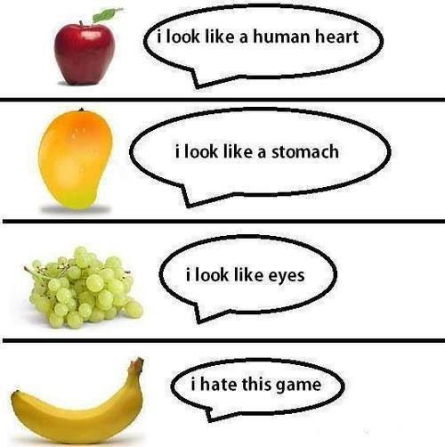 Funny Fruit Picture
