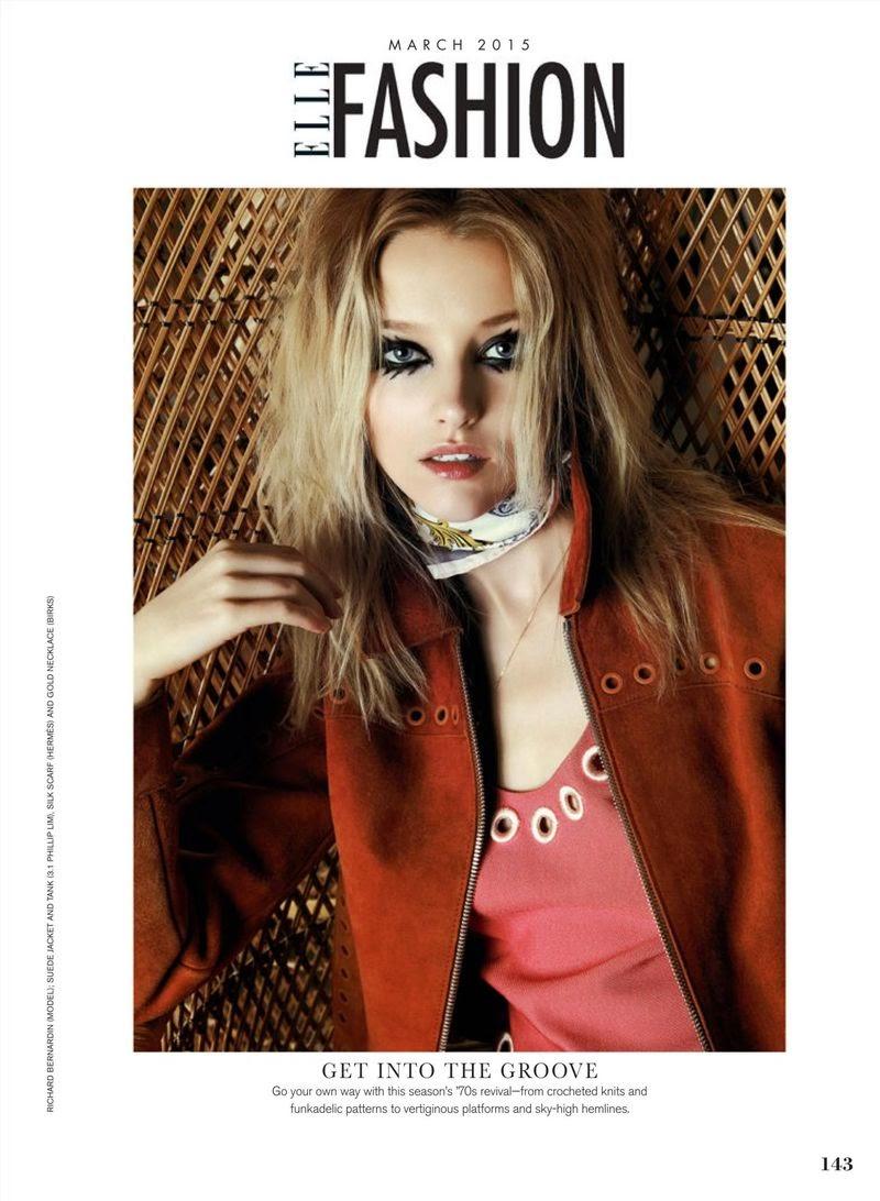 Model: Emily Van Raay - Elle Canada