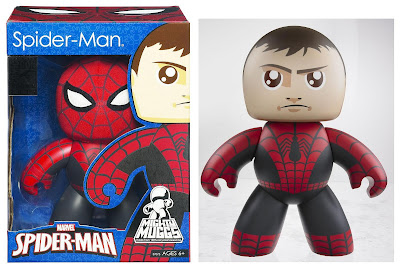 San Diego Comic-Con 2011 Exclusive Spider-Man with Removable Cloth Mask Mighty Muggs