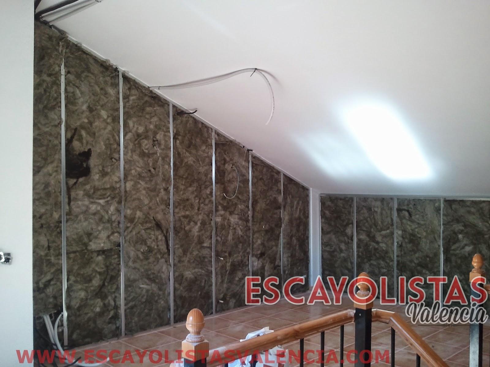 Como colocar placas de pladur en paredes y techos pladur for Mejor aislante termico