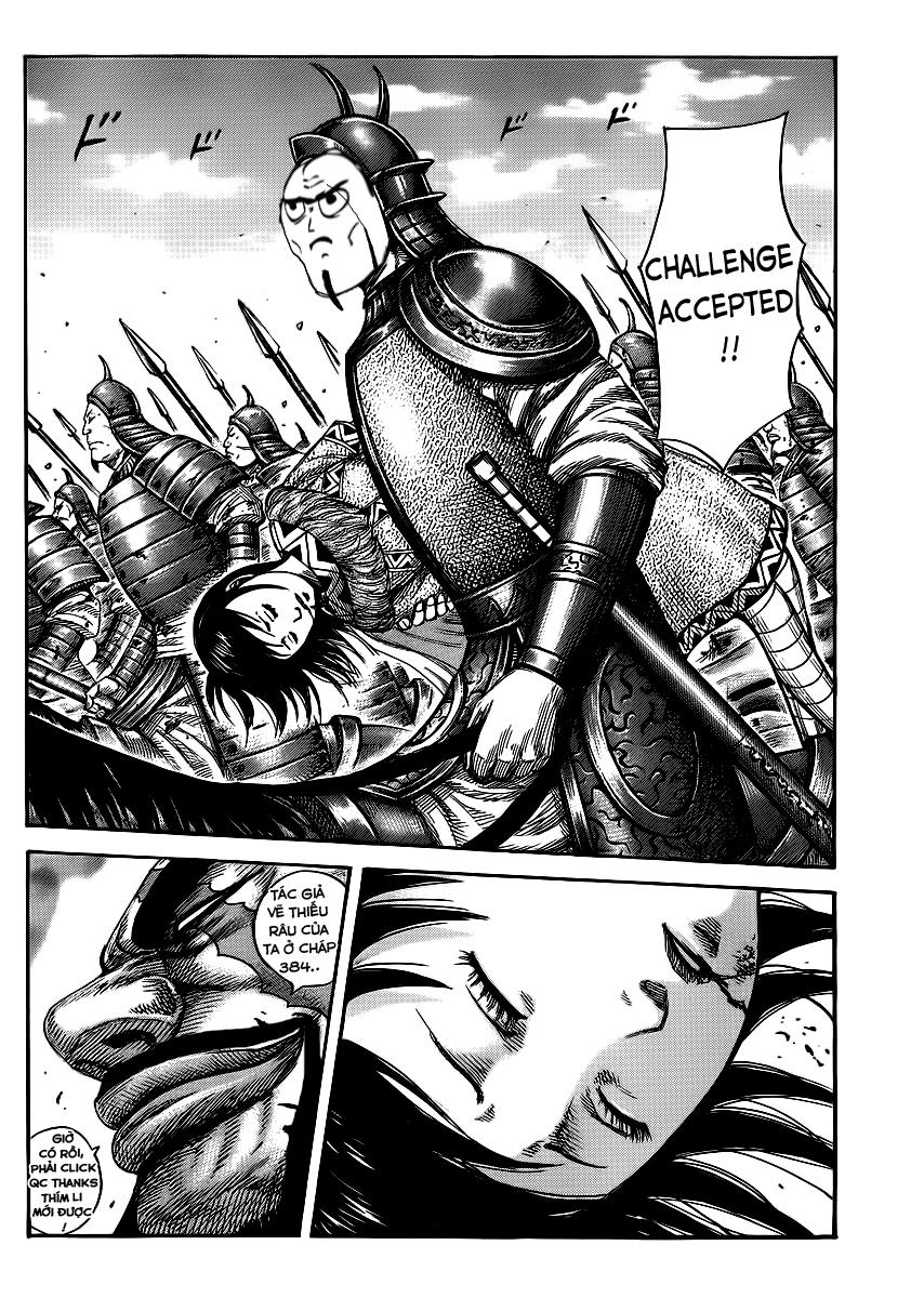 Kingdom - Vương Giả Thiên Hạ Chapter 392 page 22 - IZTruyenTranh.com