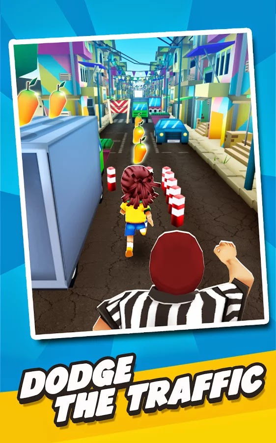 Football Rush 2014: Brazil v1.0 Mod [Unlimited Mango]