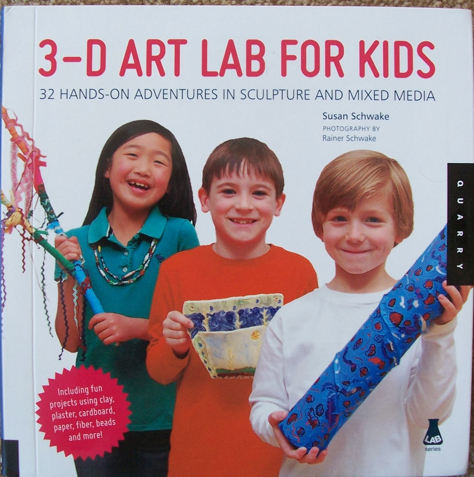 Crafty Moms Share: 3-D Art Lab for Kids Book Review