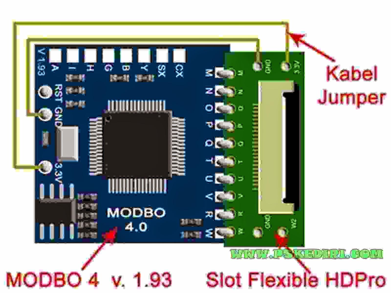 Pasang modbo mochip HDD PRO PS2 Slim