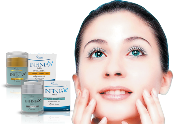 Tác dụng Kem INFINIA Peptide Collagen Cream