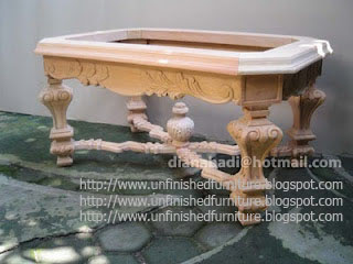 Furniture Klasik mebel klasik meja kopi ukir klasik mahoni mentah unfinished supplier furniture klasik jepara meja kopi ukir mentah mahoni