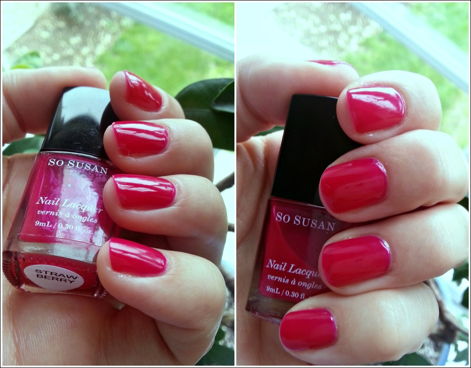 So susan nail lacquer in strawberry