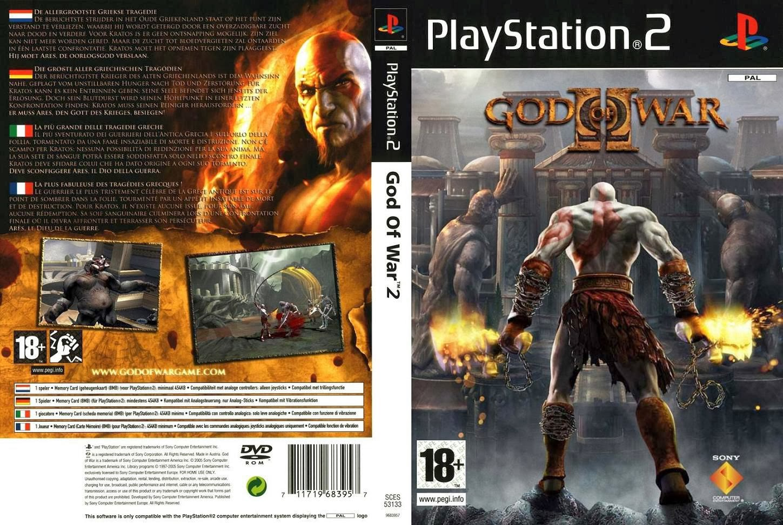 Capa god of war 2 ps2 gamecover baixar de capas dvd e bluray