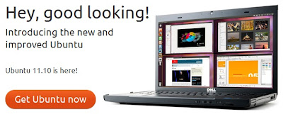 Download CD Installer Ubuntu 11.10 Untuk PC Desktop Dan Server