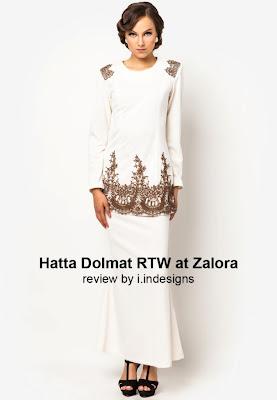 elegant baju raya designs by hatta