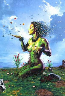 Greek Titan Goddess Gaia