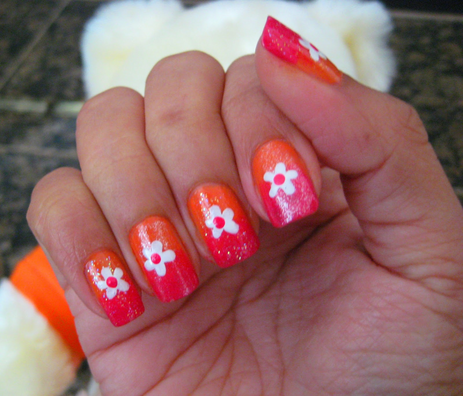 5 Finger Discount Cute Holiday Nail Art On A Budget Easy Ombre