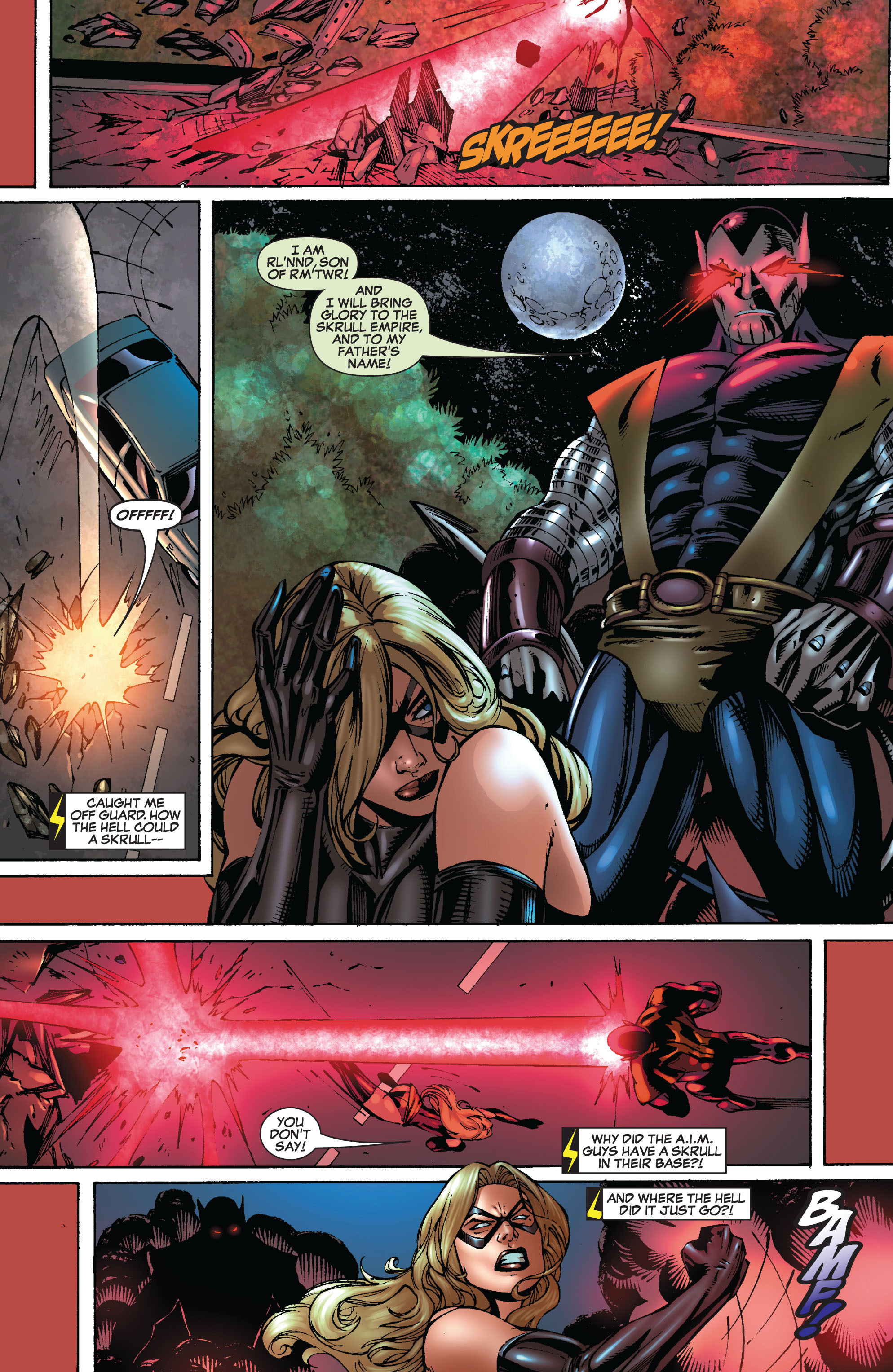 Read online Secret Invasion: The Infiltration comic -  Issue #8 - 25