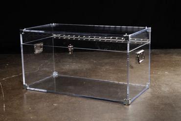 Lucite Trunk, Mecox, $3,000