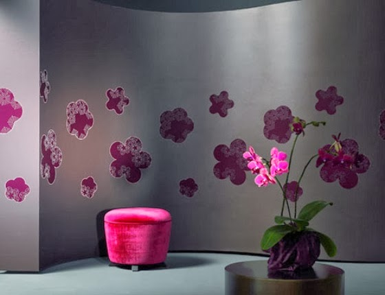 HOME DESIGN: Living Room Wallpaper Border Design Ideas And Photos