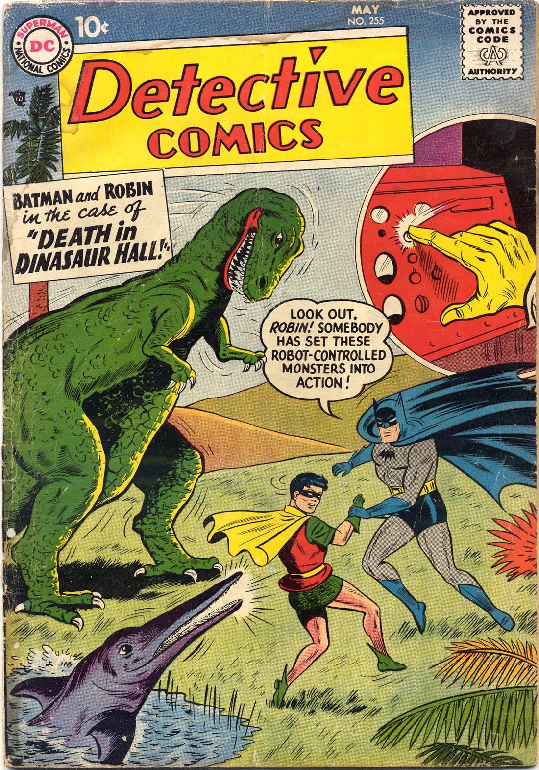 Detective Comics (1937) 255 Page 1
