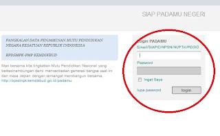 Cara Edit data dasar PTK proses VerVal NUPTK