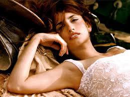 penelope cruz sleeping on bed