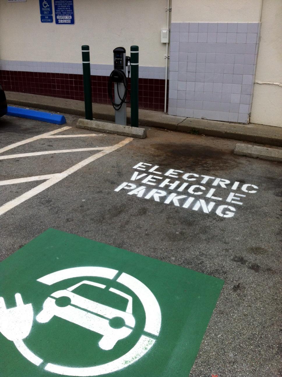 Painting A Parking Spot