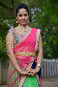 Anasuya photos in half saree-thumbnail-4