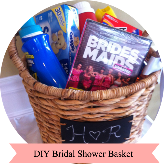 Bridal Shower Gifts Diy : ... supplies, attach this cute poem for the Bride to read out loud
