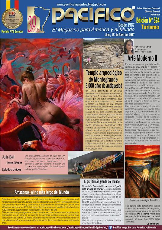 Revista Pacífico Nº 324 Turismo