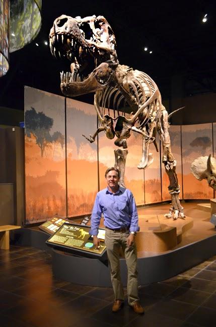 Tellus Science Museum, T-Rex & Barry