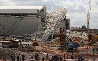 Piala Dunia mungkin mengalami penundaan karena stadion belum selesai