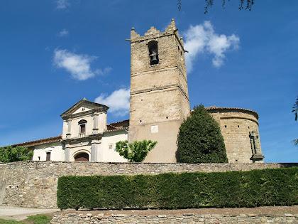 Deixant enrere Sant Andreu de Gurb