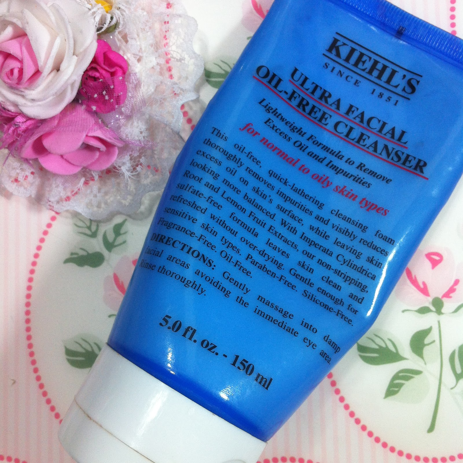 Gamze Elikdemir Kiehls Ultra Facial Oil Free Cleanser 150ml