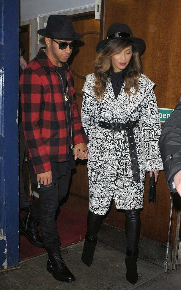 Nicole Scherzinger and Lewis Hamilton Sport Matching Hats Admits Feeling Pressure Marry Star