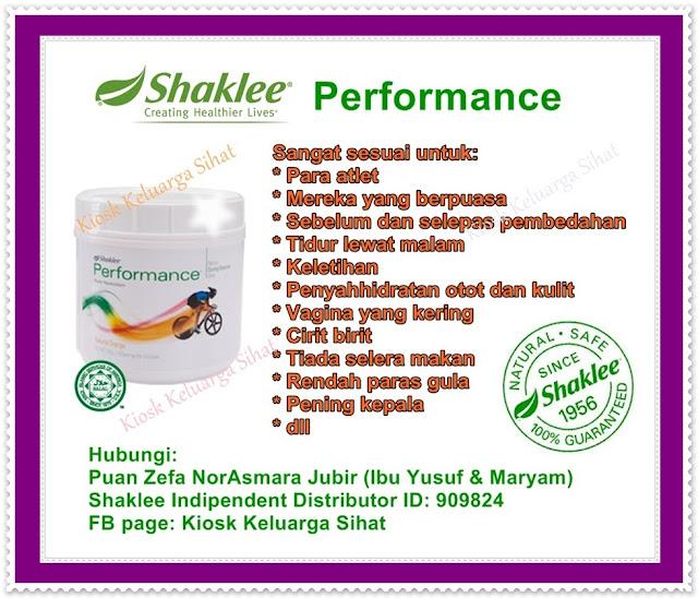 Shaklee, Shaklee Performance Drink, Kekal cergas dan bertenaga dibulan puasa