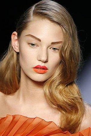 Модные тренды макияжа 2012 года.