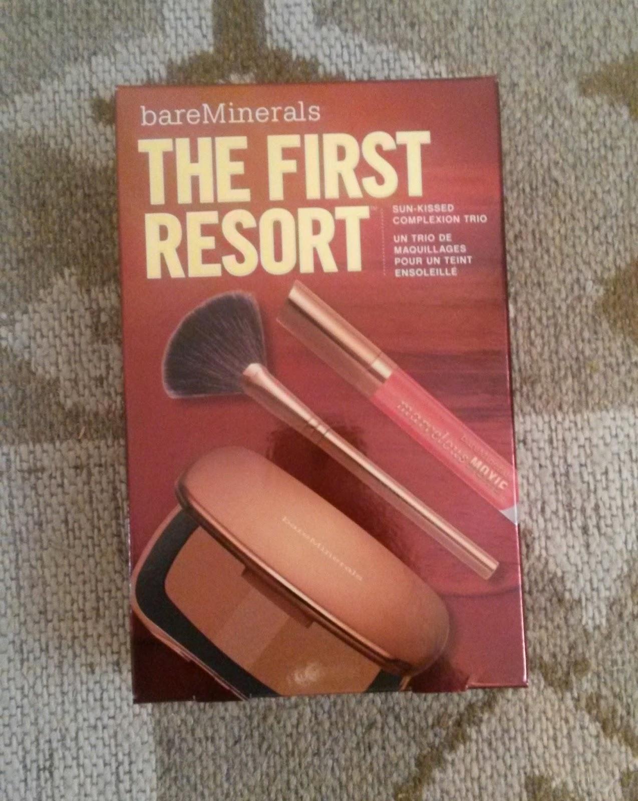 first kit resort bareminerals poudre soleil bronzer