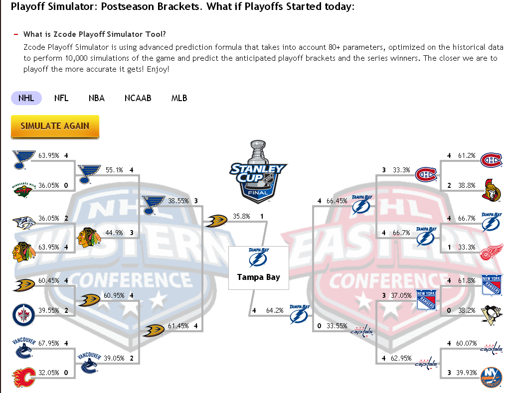 playoff race nhl best mlb bets of the day